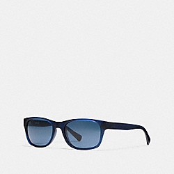 ESSEX SUNGLASSES - MATTE NAVY - COACH L808