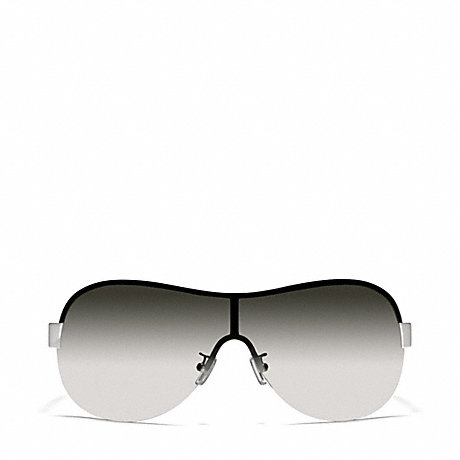 COACH LIANA SUNGLASSES - SILVER/BLACK - l921