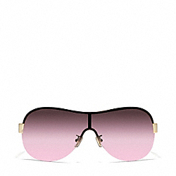 LIANA SUNGLASSES - GOLD/DARK TORTOISE - COACH L921