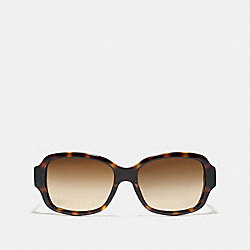 COACH RITA SUNGLASSES - DARK TORTOISE - L923