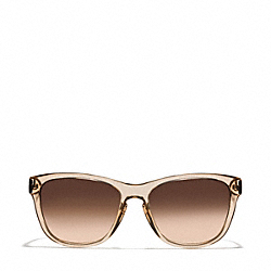 DOLLIE SUNGLASSES - BROWN CRYSTAL/DARK TORTOISE - COACH L930