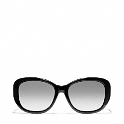 BERNICE SUNGLASSES - BLACK/BLACK CRYSTAL - COACH L931