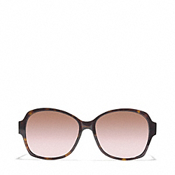 BARBARA SUNGLASSES - DARK TORTOISE - COACH L934