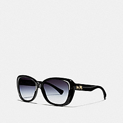 COACH CHARLOTTE SUNGLASSES - BLACK - L945