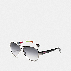 COACH KRISTINA POLARIZED SUNGLASSES - ONE COLOR - LP012