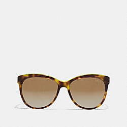 SAMANTHA POLARIZED SUNGLASSES - BWG - COACH LP051