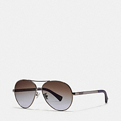 STEFANIE POLARIZED SUNGLASSES - BWI - COACH LP053