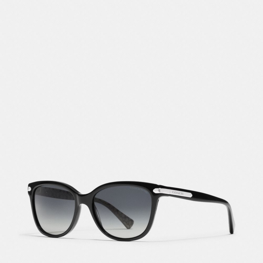 TAG TEMPLE CAT EYE POLARIZED SUNGLASSES - Alternate View