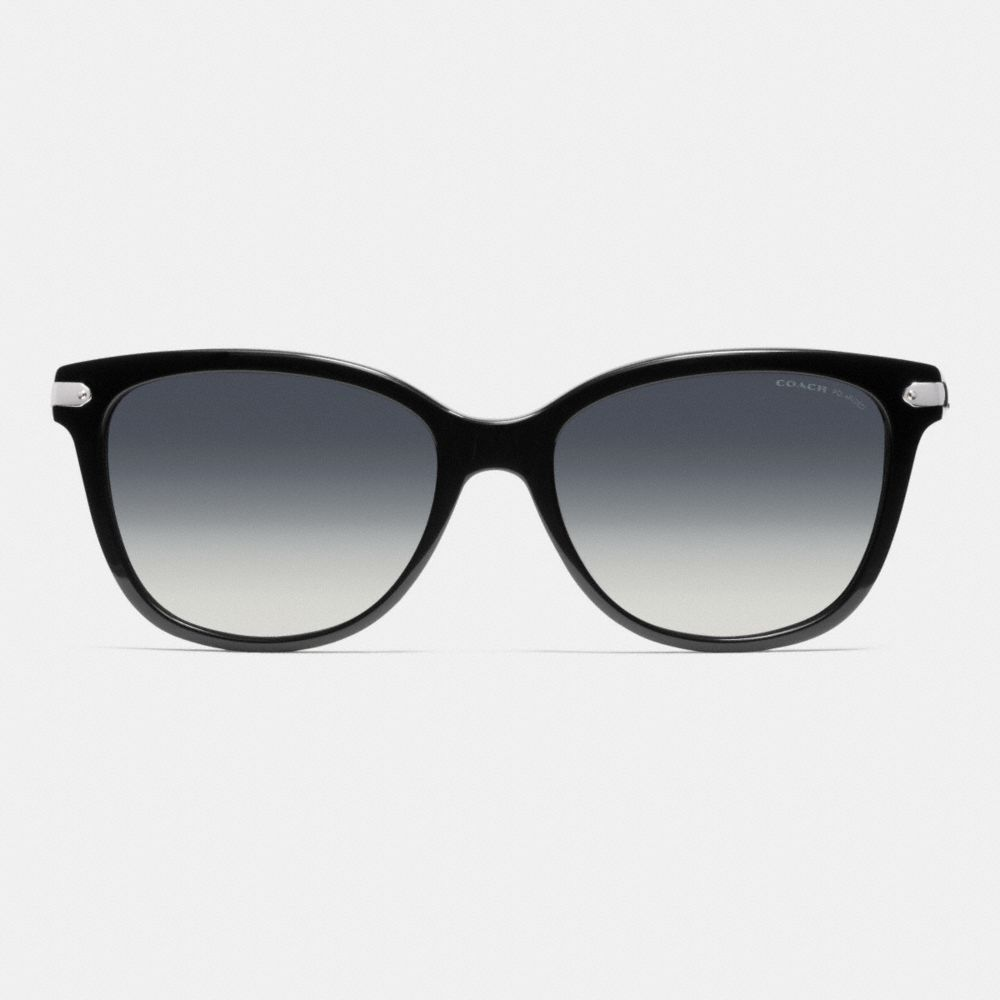 Tag Temple Cat Eye Polarized Sunglasses - Alternate View L1