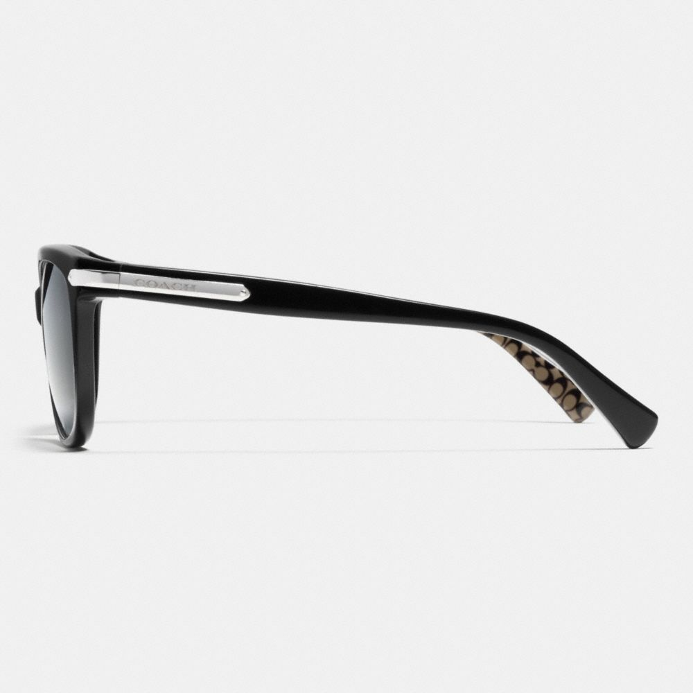 Tag Temple Cat Eye Polarized Sunglasses - Alternate View L2
