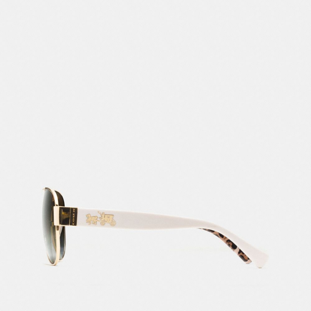 HORSE AND CARRIAGE PILOT POLARIZED SUNGLASSES - Alternate View