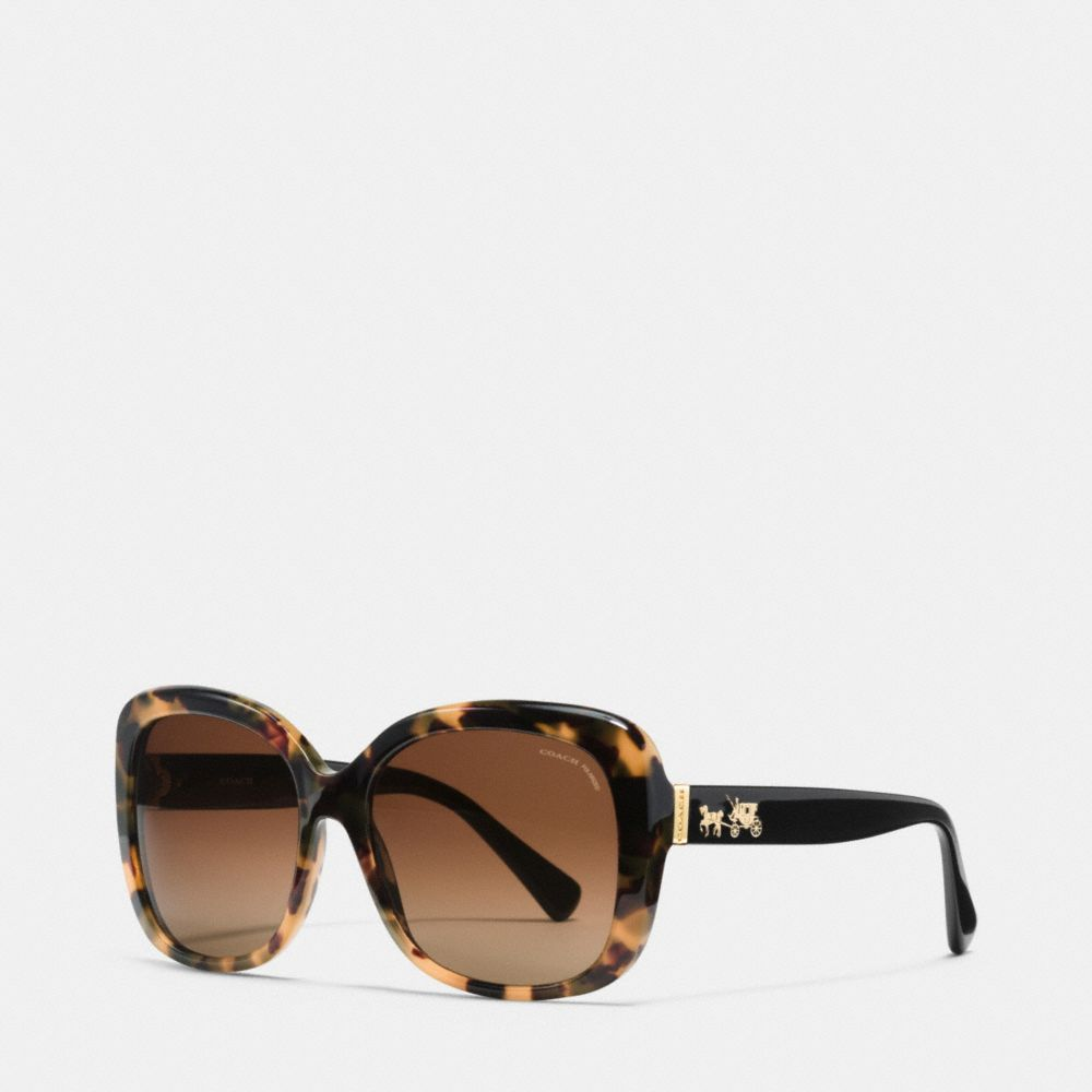 HORSE AND CARRIAGE SQUARE POLARIZED SUNGLASSES - Alternate View
