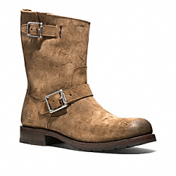COACH ROGAN ENGINEER BOOT - ONE COLOR - Q1639