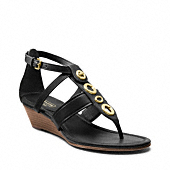 Vicky Wedge Sandal