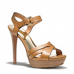 COACH DANI HEEL - NATURAL - Q1862