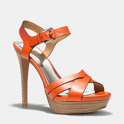 COACH DANI HEEL - PAPAYA - Q1862