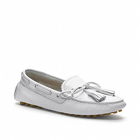COACH NADIA LOAFER - CHALK - q1872