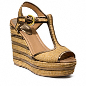 GENEVA STRIPE WEDGE