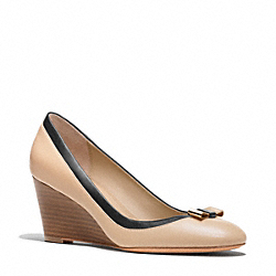 COACH Q1949 - HILLAREE WEDGE ONE-COLOR