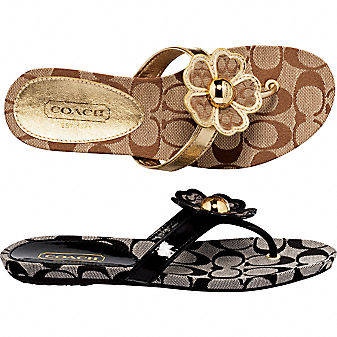 Coach Official Site - SHERRIE SANDAL