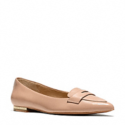 COACH TABITHA FLAT - BRIGHT POWDER - Q3029