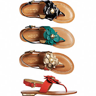 Coach Official Site - SARI :  beautiful summer ballet flats gift ideas