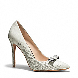 COACH HALLIE HEEL - CLOUD - Q3214