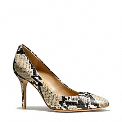 COACH NALA PUMP - ONE COLOR - Q3228