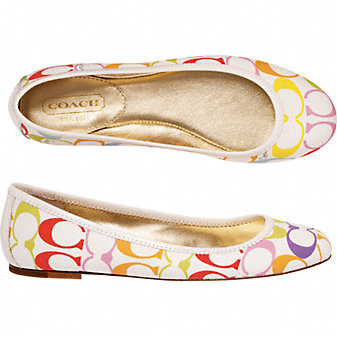 Coach Official Site - LARRA :  beautiful ballet flats gift ideas womens shoes