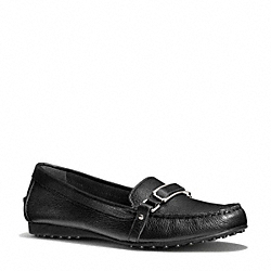 COACH FLYNN LOAFER - BLACK - Q3306