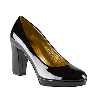 Coach Official Site - FERN PUMPS :  pumps shoes metallic patent