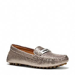 COACH NOLA LOAFER - PEWTER - Q4061