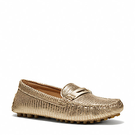 COACH NOLA LOAFER - PLATINUM - q4061