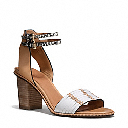 COACH Q4085 - PEXTON HEEL CHALK/NATURAL