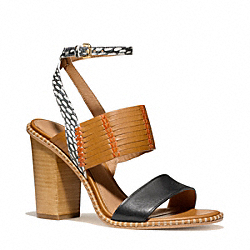 COACH SEVILLA HEEL - ONE COLOR - Q4091