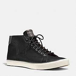 COACH PETE SNEAKER - BLACK - Q4098