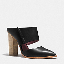 FORTUNE HEEL - BLACK - COACH Q4400