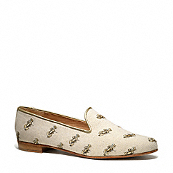 UTOPIA FLAT - NATURAL GOLD - COACH Q4542
