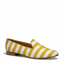 COACH Q4558 - UTOPIA FLAT YELLOW/WHITE