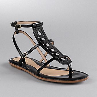 Coach Official Site - GERALYNN SANDAL :  sandal coach shoes leather goods