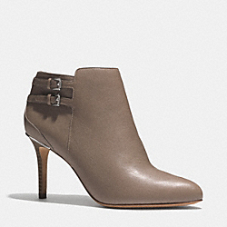 COACH DAPHNEY BOOTIE - LIGHT FEATHERED GREY - Q5184