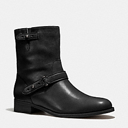 AMY BOOT - BLACK/BLACK - COACH Q5202