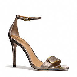 COACH HAMPTON HEEL - BRONZE - Q6077