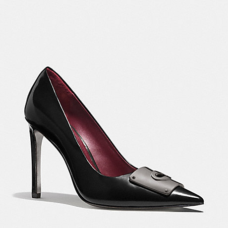 COACH DREE PUMP - BLACK - q6091