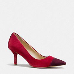 ZAYNA PUMP - q6113 -  RED/WINE