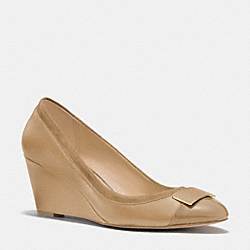 HEATH WEDGE - q6114 -  LIGHT CAMEL/LT CAMEL