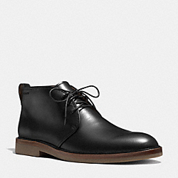 GAVIN BOOT - BLACK - COACH Q6121