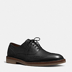 GRIFFIN OXFORD - BLACK - COACH Q6123