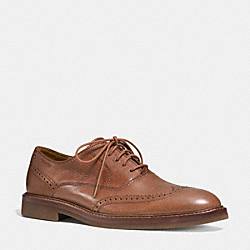 GRIFFIN OXFORD - SADDLE - COACH Q6123