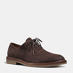 GRIFFIN OXFORD - MAHOGANY - COACH Q6124
